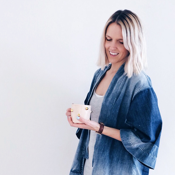 Tour Food Blogger and Stylist Alison Wus Dreamy, Pink