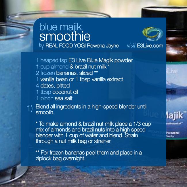 E3Live - Blue Majik Smoothie