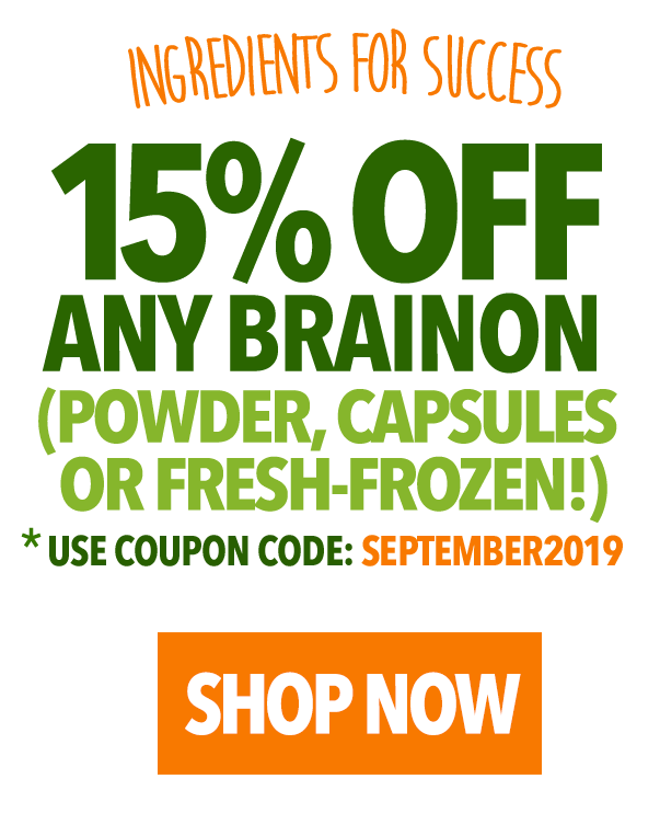 15% OFF all BrainON products