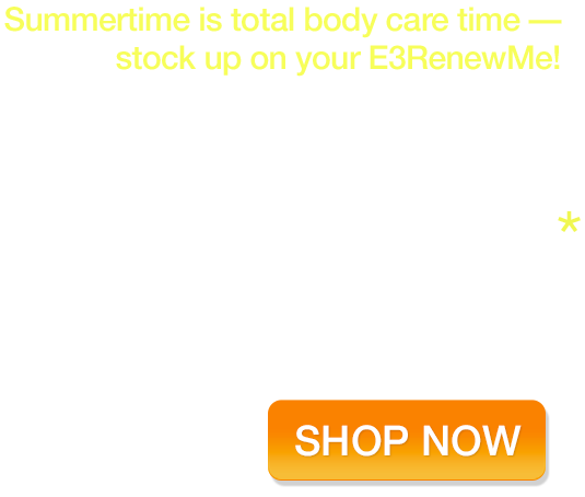 RenewMe is our total body superfood - Enjoy 15% OFF for a limited time!