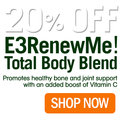 20% OFF RENEWME for a LIMITED TIME!
