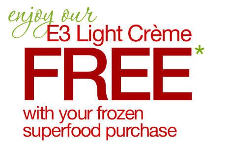FREE Gift with Frozen Superfood Purchase