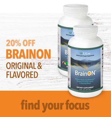 Enjoy 20% OFF BrainON Original and Flavored