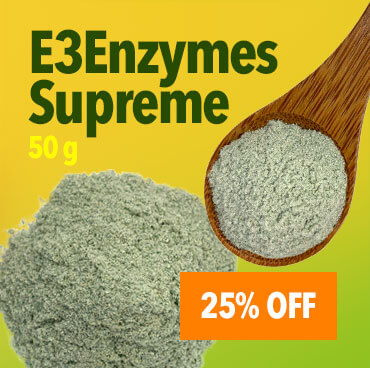20% Off Enzymes Supreme - 50 g