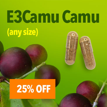 25% Off Camu Camu - all sizes