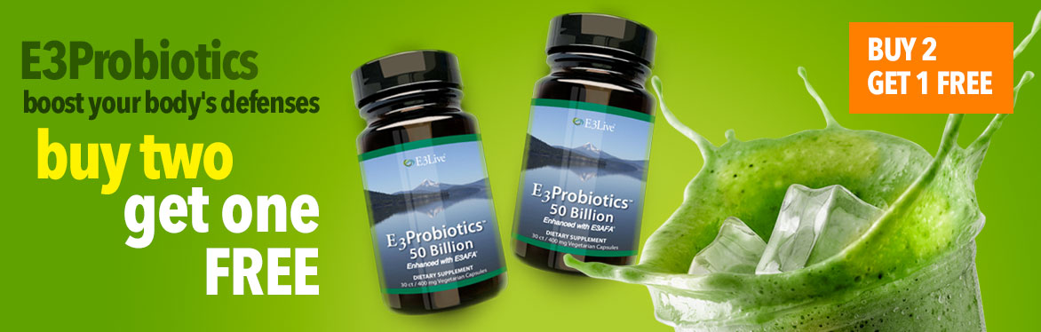 E3Probiotics - Buy two get one free