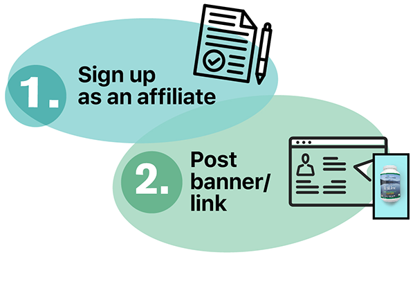 sign up as an affiliate