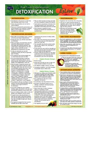Quick Reference - Detoxification
