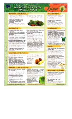 Quick Reference - Juices