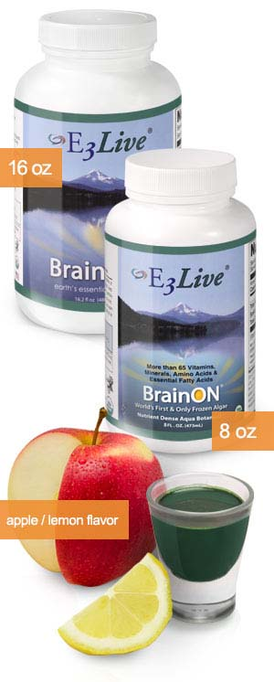 E3Live + BrainON Apple/Lemon Flavor