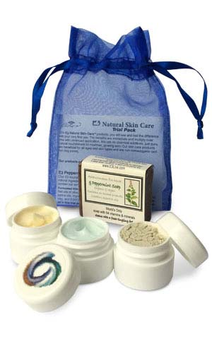 E3 Natural Skin Care Trial Pack