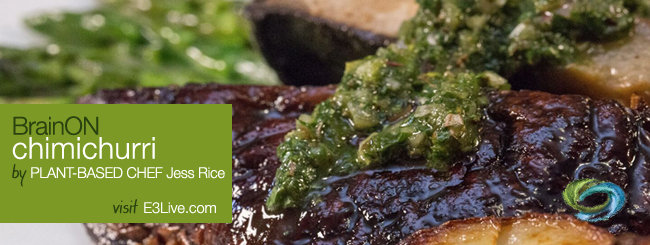 BrainON Chimichurri / by Jess Rice of @mypoortiredliver