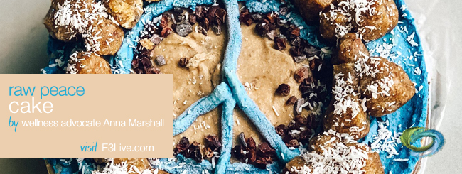 RAW CACAO, VANILLA, AND BLUE MAJIK PEACE CAKE / by Anna Marshall