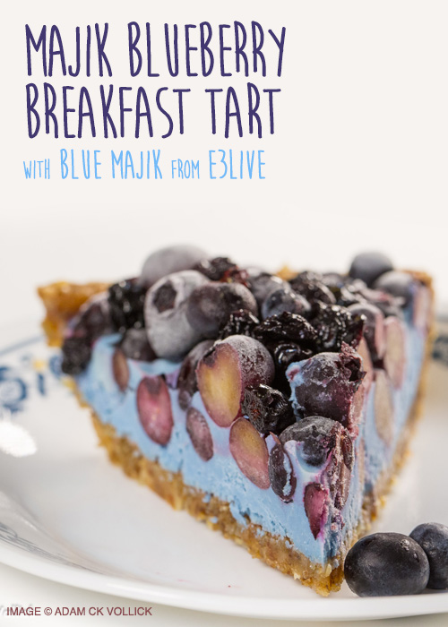 Majik Blueberry Breakfast Tart