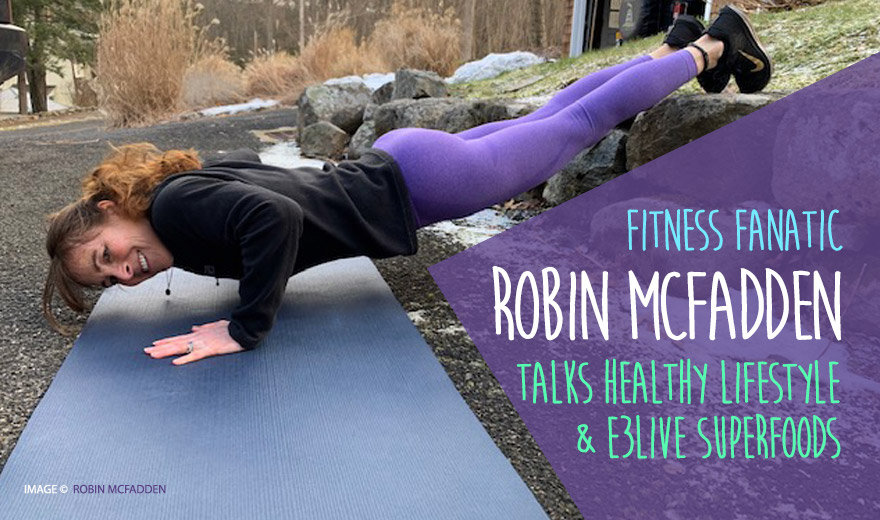 ROBIN MCFADDEN - Fitness Lover and Aspiring Trainer